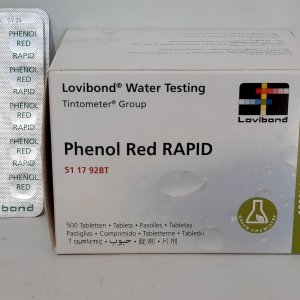 50 כדורי Phenol Red Rapid למדידת pH 2